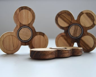 Wood Fidget Spinner - Perfect Gift for your Kids!