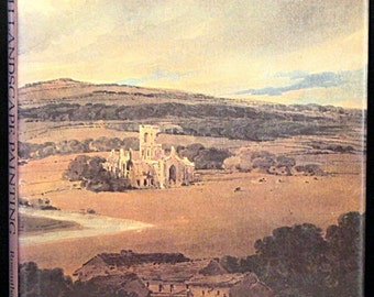 Fine Art Catalog * British Landscape Painting by Michael Rosenthal * Color Plates Wonderful Reference Work!
