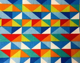 Geometric Pattern - Over The Collar Dog Bandana // Pet Apparel