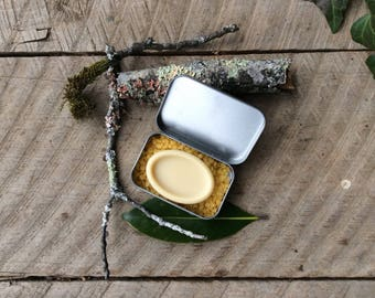 Unscented Lotion Bar-Organic Body Lotion-Party Favor/Gift Idea-Handmade Natural Solid Lotion Bar-Sensitive Skin Moisturizer by Funny Finch