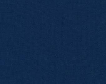 Storm Blue Solid KONA COTTON from Robert Kaufman Fabrics - K001-458