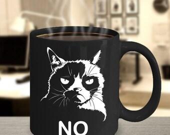 Grumpy Cat Mug - 11 0z coffee mug, Grumpy Mug