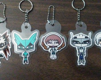 Boku no Hero Academia keychains (One-sided)