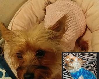 Crochet Dog Sweater XS-XL