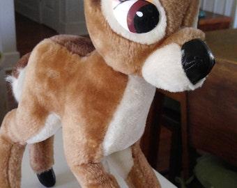 Bambi - stuffed animal- Walt Disney - Deer