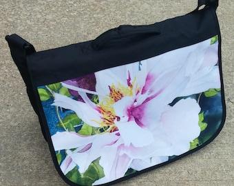 Peony Messenger Bag