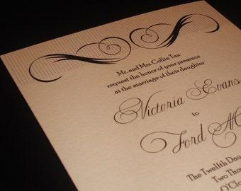 Simple Beauty - Wedding Invitations