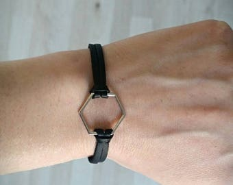 Hexagon bracelet