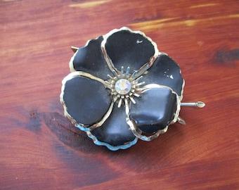 1930's Flower Brooch