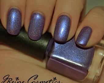 Fat Tuesday (DISCONTINUING) - Purple Blue Holographic Nail Polish