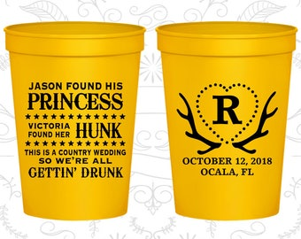 Yellow Stadium Cups, Yellow Cups, Yellow Party Cups, Yellow Wedding Cups (28)