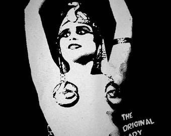 THEDA BARA - t-shirt  The Original Lady Vamp