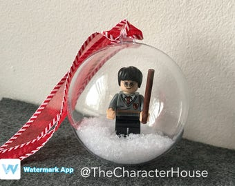 Harry Potter LEGO Christmas Tree Ornament