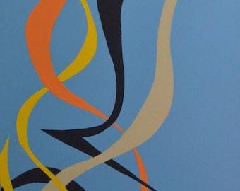Original Modern Abstract Art, Minimal Art, Minimal Painting, Modern Painting, Contemporary Painting
