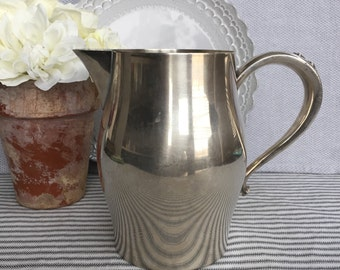 """Classic Vintage Oneida 6.5"""" Silver Plated Pitcher, Item No. 1695"""