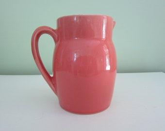 Vintage Ceramifrance Pitcher  - Peach, melon