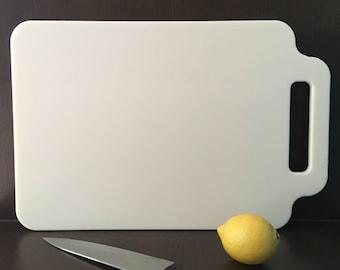 Corian Chopping Board Cream Large, Kitchenware, Cookware, Cutting Board, Housewarming, Moving In, Gift, Present