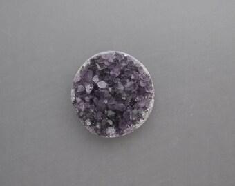 Amethyst Coin Drusy