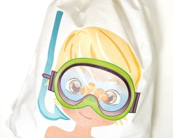 Backpack snorkel