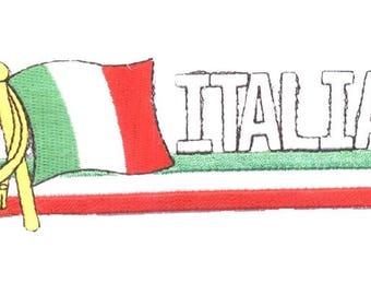 Italia Italy Patch (Iron on)