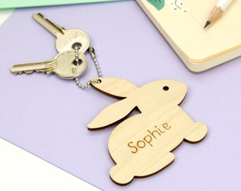 Cute animal key ring