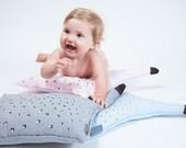 Pink baby pillow , Decorative Pillow , Nursery Pillow , Kids Pillow
