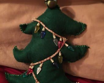 2017 Christmas Tree Pillow