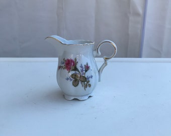 Moss Rose Creamer or Small Pitcher Japan