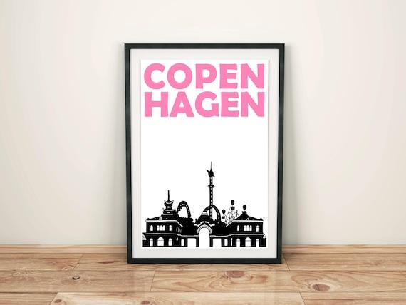 Copenhagen print scandinavian print denmark
