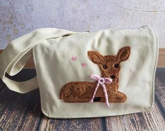 Nursery bag Deer Kitz Autumn Special 2017 fawn, small deer, sale, express, discount, unique, bag, children, forest, deer Brown,