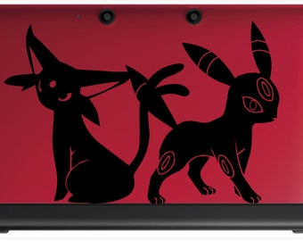 Espeon and Umbreon Decal