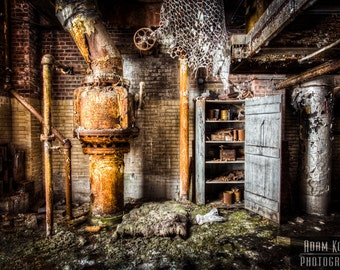 Abandoned Factory - Urbex, Urban Decay Photography