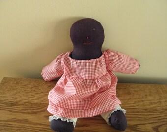 Black Cloth Doll