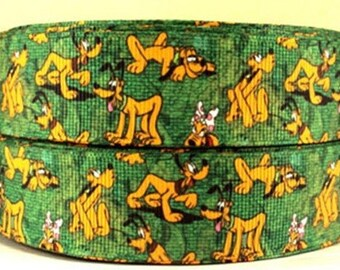 5 YDS Mickey Mouse Pluto Ribbon