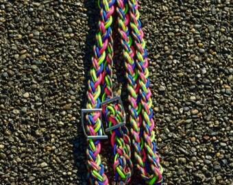 Rainbow Barrel Reins