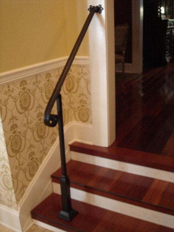 3 pieds en fer forg main courante escalier tape garde corps. Black Bedroom Furniture Sets. Home Design Ideas