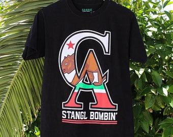 California Flag Stangl Bombin Shirt