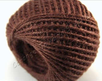 Jute Cords, 5mt Jute Rope, 2mm Jute Rope Cording, Hemp Cord, Brown Jute Twine Cords, Jute Craft Cording, Decorative Trim Cord, Jute Threads