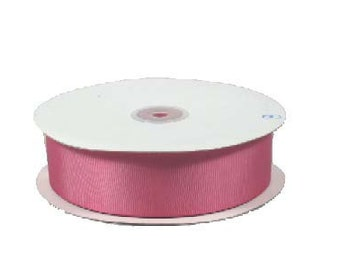 3/8 x 50yds Grosgrain Ribbon - COLONIAL ROSE