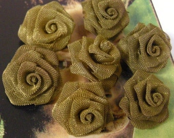 Brass Mesh Roses 18 mm (7)