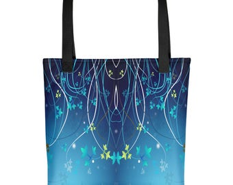 Ivy, Ivy Leave, Poison Ivy, Flowers, Vine, Bag, Beach Bag, Tote bag