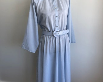 Vintage American Shirt Dress - Shirtwaist Dress