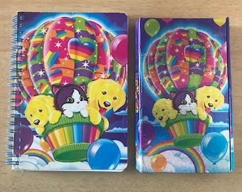 Lisa Frank Balloon Buddies Tri Fold Magnetic Organizer & Phat Pad