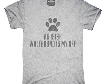 Cute Irish Wolfhound Dog Breed T-Shirt, Hoodie, Tank Top, Gifts