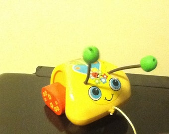 Fisher price ladybug pull toy