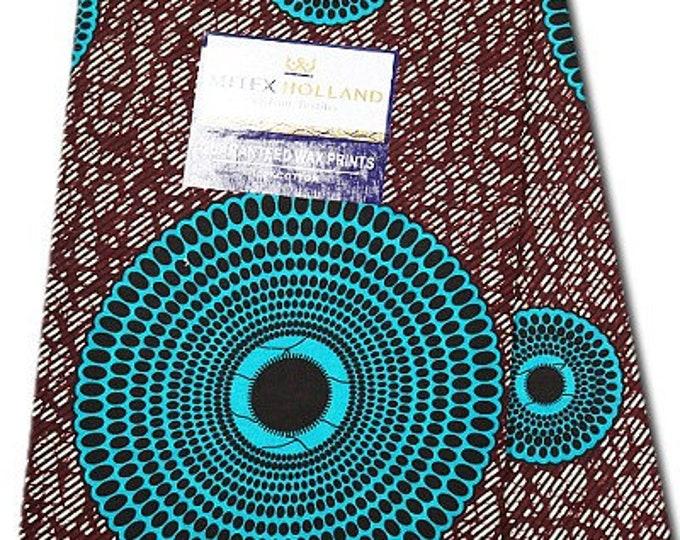 6 Yards African Fabrics Mitex Holland Dutch Block Wax Print, Fabrics For  Craft /Sewing and Dress Making Kitenge/Pagnes/Ankara /Chitenge