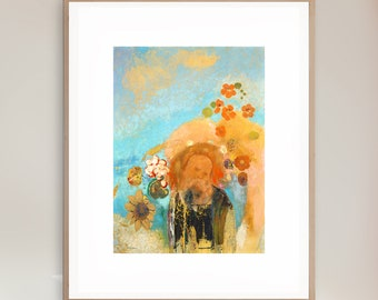 Odilon Redon - Evocation of Roussel - Giclee Print