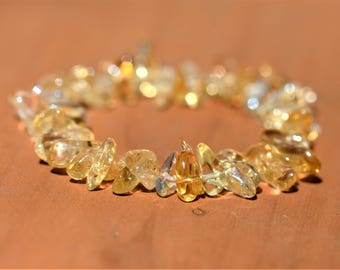 Citrine Healing Stretch Bracelet - SUCCESS