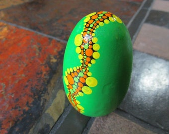 River Egg in Green