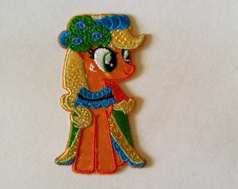 1  Pony Patch Iron /Sew on  Patch Embroidered Applique - #SP-00025